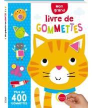Mon grand livre de gommettes + 400 autocollants - LANE CHARLY  - Editions Kimane