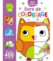Mon grand livre de coloriage - plus de 400 autocollants - CHARLY LANE - Editions Kimane