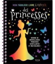 Mon fabuleux livre à gratter des princesses - Editions Kimane