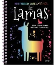 Mon fabuleux livre à gratter des lamas - Editions Kimane