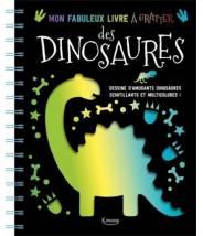 Mon fabuleux livre à gratter des dinosaures - Editions Kimane