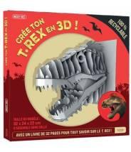 Crée ton t-rex en 3d ! - NICKY DEE - Editions Kimane