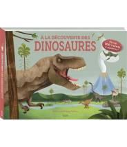 À la découverte des dinosaures (coll. livres 100 volets) HUI SKIPP - Editions Kimane