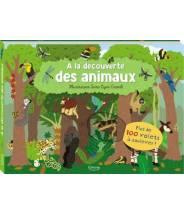 À la découverte des animaux (coll. livres 100 volets) NIKI HORIN  - Editions Kimane