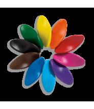 Crayons de cire ergonomique - lot de 10 crayons - Ooly