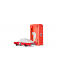 Red Racer - véhicule en bois - Taille small - Candylab Toys