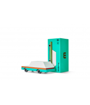 Teal Wagon - véhicule en bois - Taille small - Candylab Toys