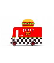 Hamburger Van - véhicule en bois - Taille small - Candylab Toys