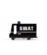 Swat van - véhicule en bois - Taille small - Candylab Toys