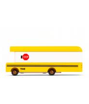 School Bus - véhicule en bois - Taille small - Candylab Toys