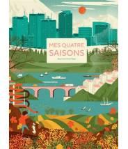 Mes quatre saisons - Dawid Ryski - Editions Kimane - livre