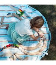 EXTERIEUR RAYURES Sac de rangement et tapis de jeu PLAY AND GO grand modèle