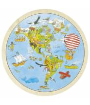 Puzzle Tour du monde - Goki