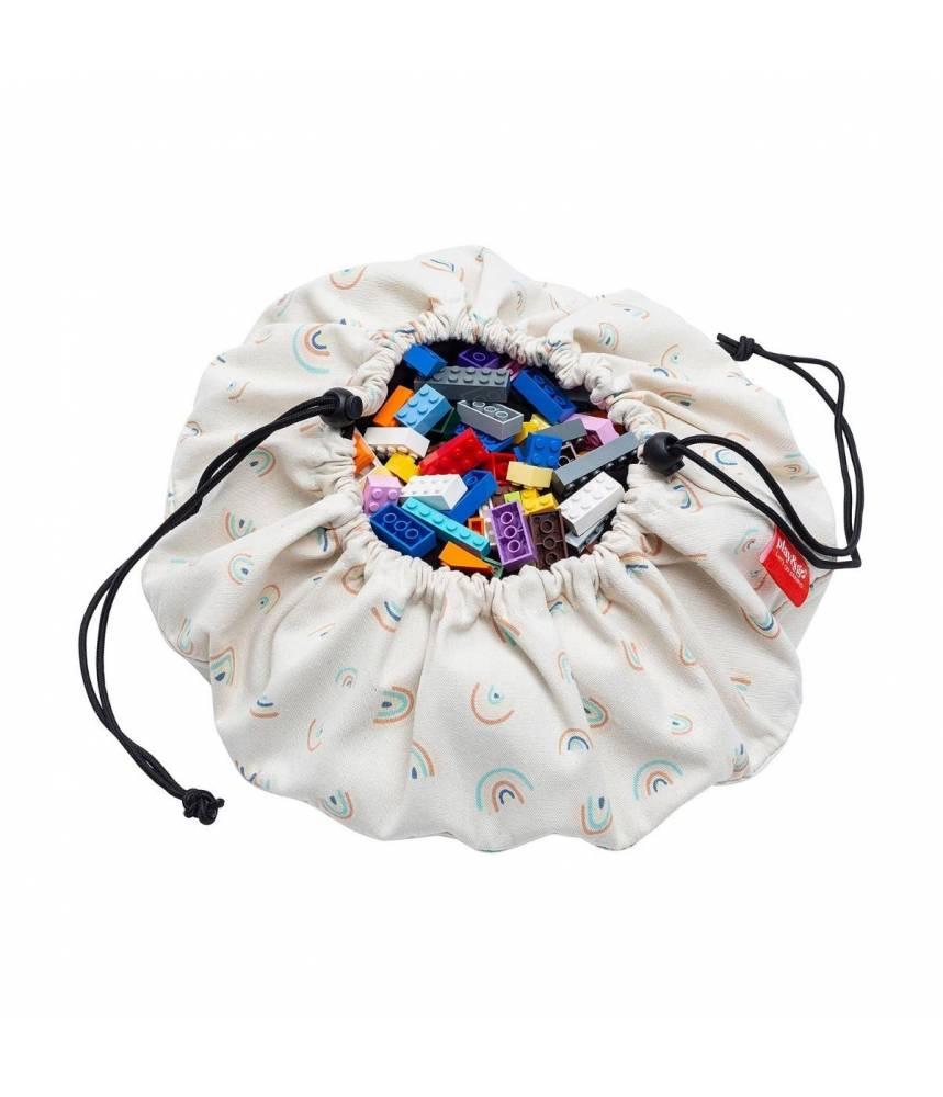 MINI RAINBOW Sac de rangement et tapis de jeu PLAY AND GO PETIT modèle