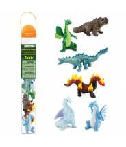 Dragons Élémentaires Toob - Nouveauté 2021 - Tube Safari LTD