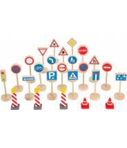 Set de panneaux de signalisation - Small foot