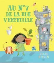Au n°7 de la rue verfeuille - Julia Patton - Editions Kimane