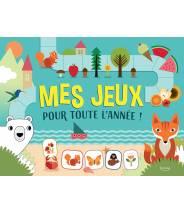 Mes jeux pour toute l'année -Agnèse Baruzzi  - Editions Kimane