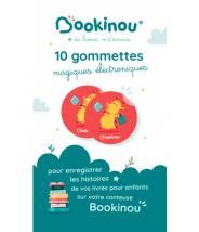10 GOMMETTES ÉLECTRONIQUES POUR BOOKINOU