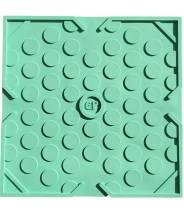 Game Plak' Bubble turquoise - jeu de billes