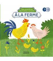 A la ferme, Mes premières devinettes sonores  - Editions Amaterra