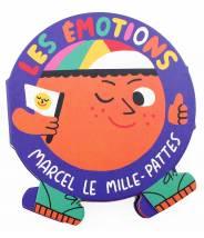 Marcel le mille-pattes, Les émotions  - Editions Amaterra