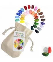 Crayons Rock 32 pièces - Crayons cailloux lot de 32