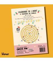 CALENDRIER DE L'AVENT EN FAMILLE - 25 GAGES ET DÉFIS À GRATTER POUR ATTENDRE NOËL - Gratte-moi