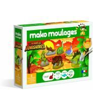 LE MONDE DES DINOSAURES  Coffret 6 moules - Mako moulage