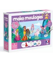 Mes fées  Coffret 5 moules - Mako moulage