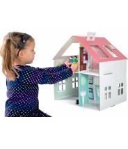 Maison de poupée en carton