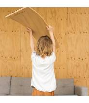 Starter Transparent sans feutre - Planche d'équilibre Wobbel - wobble board