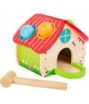 Maison à marteler les boules