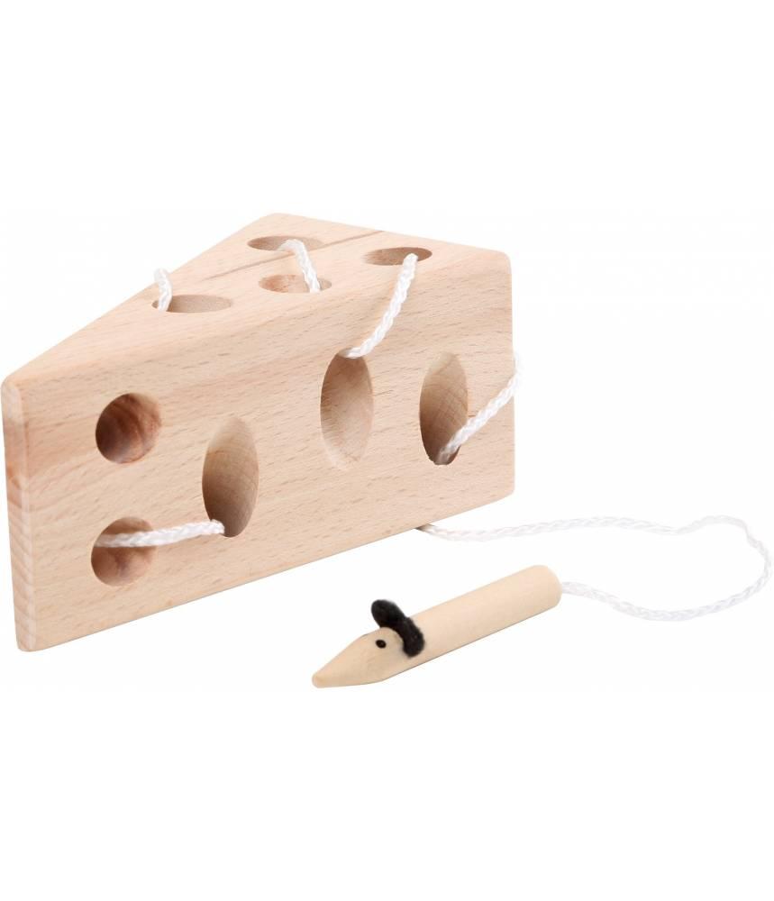 Jeu de lacets Le petit fromage et la souris