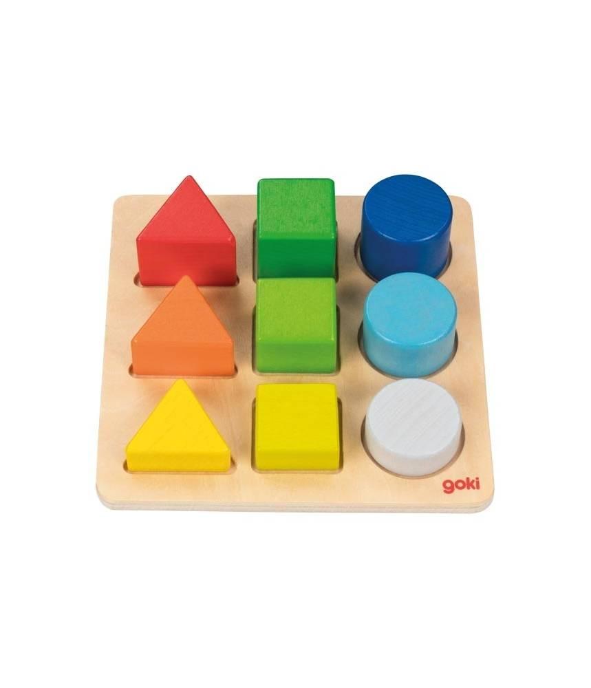 Puzzle des formes et des couleurs Goki