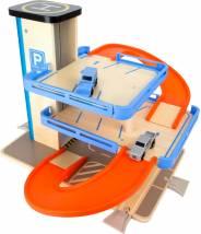 Compatible 2 Train De Avec Ascenseur Étages Parking Circuit 0PknOw8X