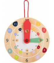 Horloge éducative, apprendre à lire l'heure