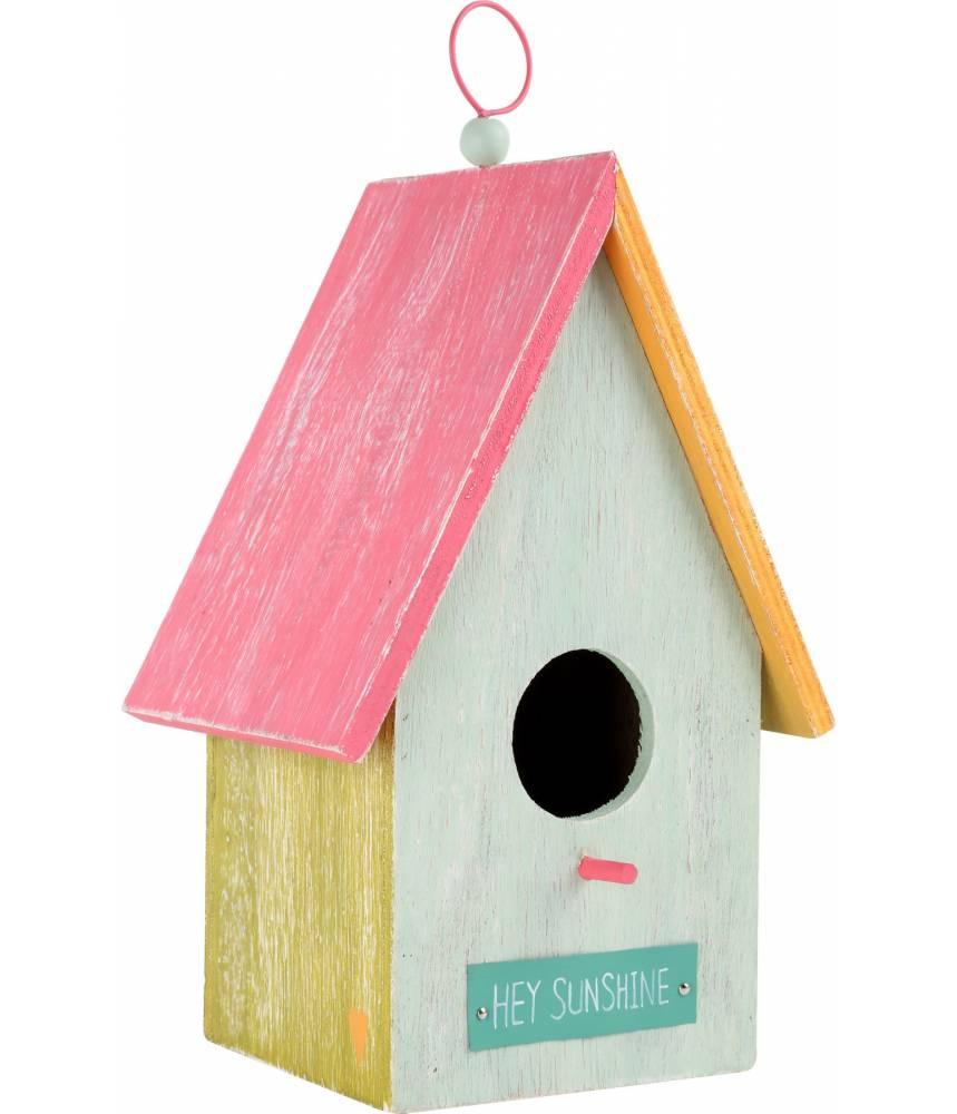 maison pour oiseaux hey sunshine. Black Bedroom Furniture Sets. Home Design Ideas