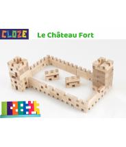LA BASIC - CLOZE - JEU DE CONSTRUCTION EN BOIS