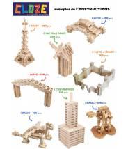 LA CHEVRONNÉE - CLOZE - JEU DE CONSTRUCTION EN BOIS