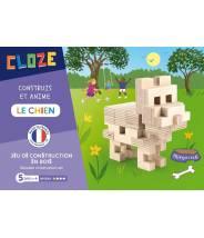 Le Chien - CLOZE - JEU DE CONSTRUCTION EN BOIS