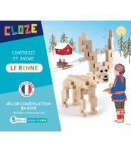 Le Renne - CLOZE - JEU DE CONSTRUCTION EN BOIS