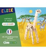 La Girafe - CLOZE - JEU DE CONSTRUCTION EN BOIS