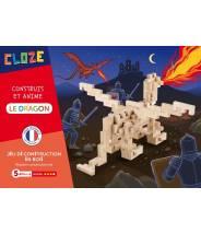 Le Dragon - CLOZE - JEU DE CONSTRUCTION EN BOIS