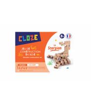 KIT CRÉATIF SCORPION - CLOZE - JEU DE CONSTRUCTION EN BOIS
