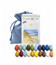 Crayons Rock 20 pièces couleurs d'été - Crayons cailloux lot de 20
