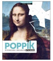 Mona Lisa La Joconde - Poppik Sticker puzzle