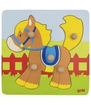 Puzzle à encastrement - cheval