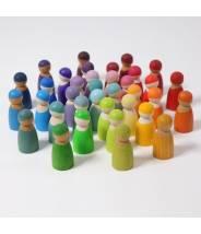 12 amis arc-en-ciel - Rainbow Friends - Grimm's