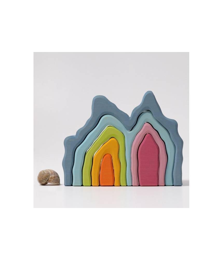 Grotte bleue Pastel - Grimm's